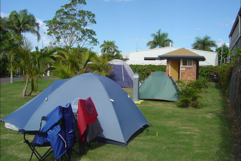 Grassed Tent Sites - Powered