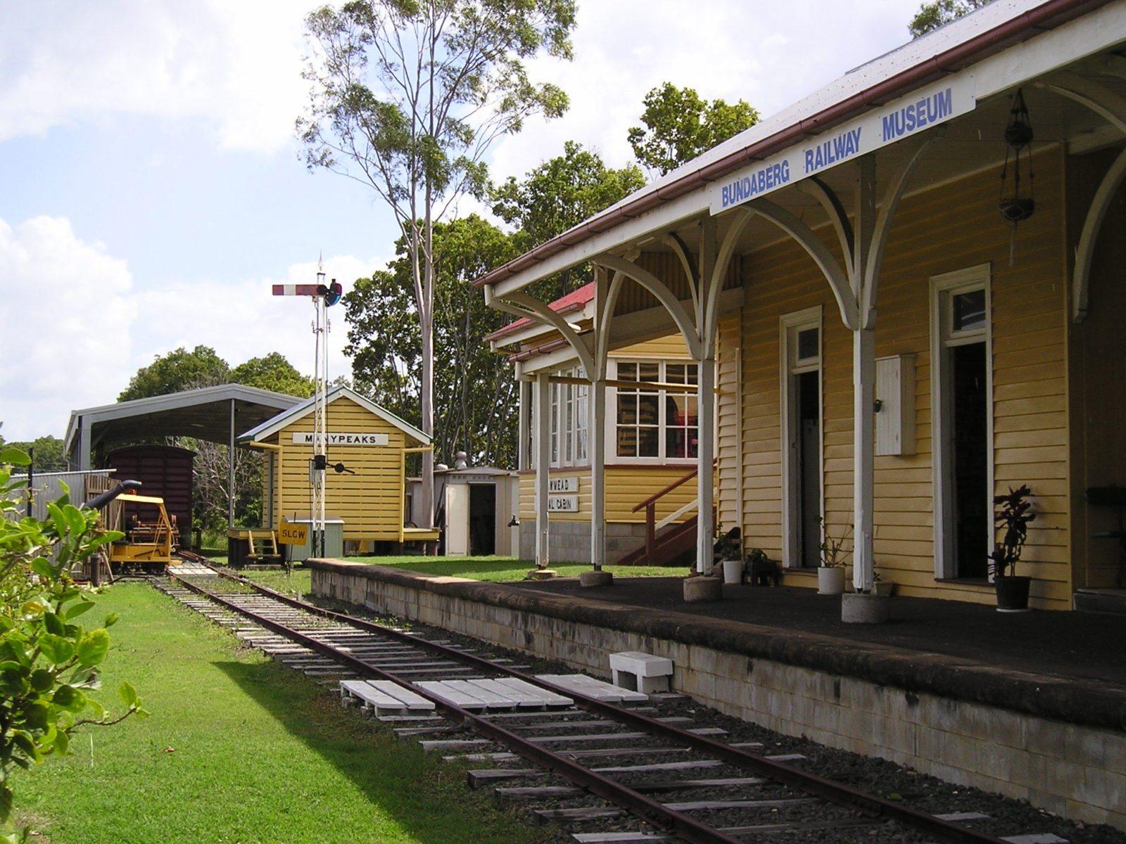 Bundaberg Rail Museum Shed