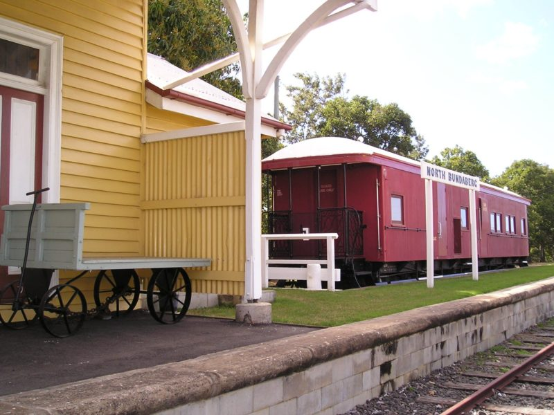 Bundaberg Rail Museum East Platform
