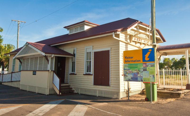 Image of the front of the Visitor Information Centre
