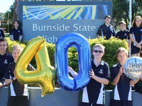 BSHS students preparing for the celebration