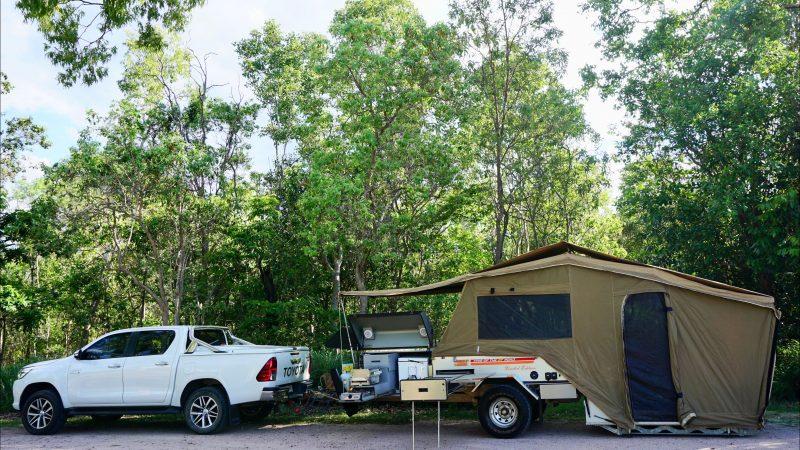 Bush 2 Beach Camper Trailer Hire Premium Kimberly Kamper
