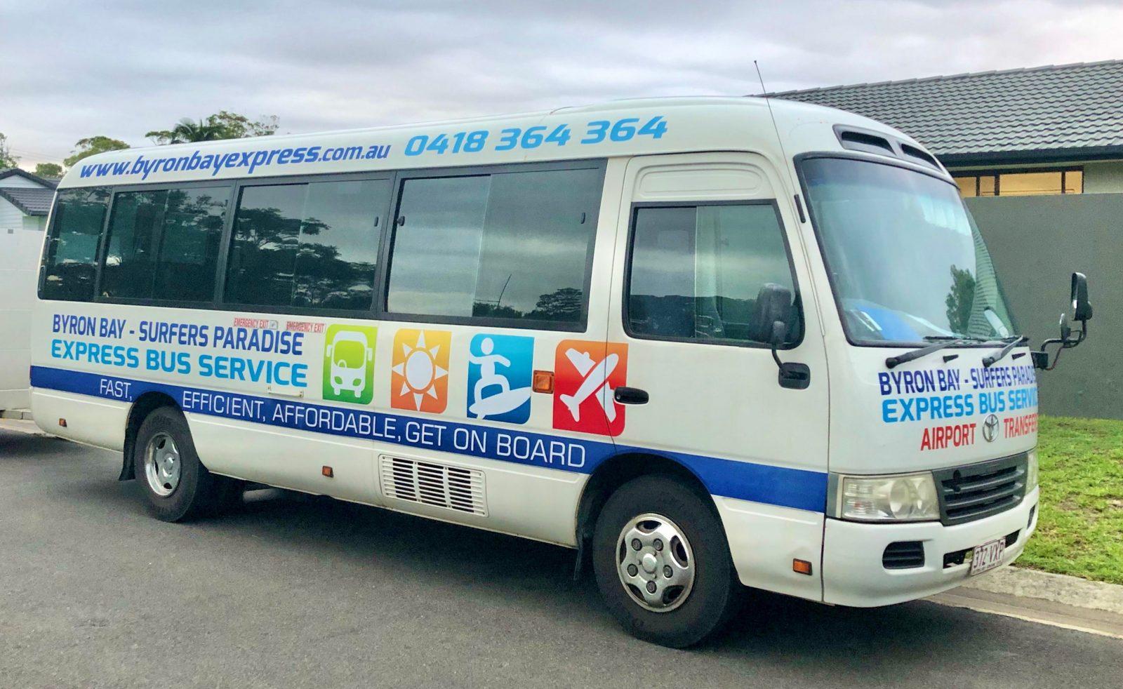 Byron Bay Express Bus