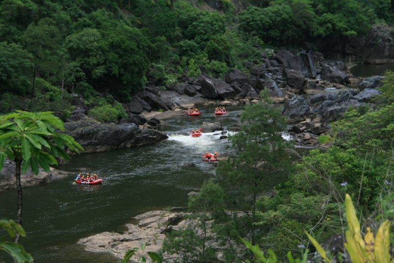 Cairns Adventure Group, rafting, tours, Barron River,