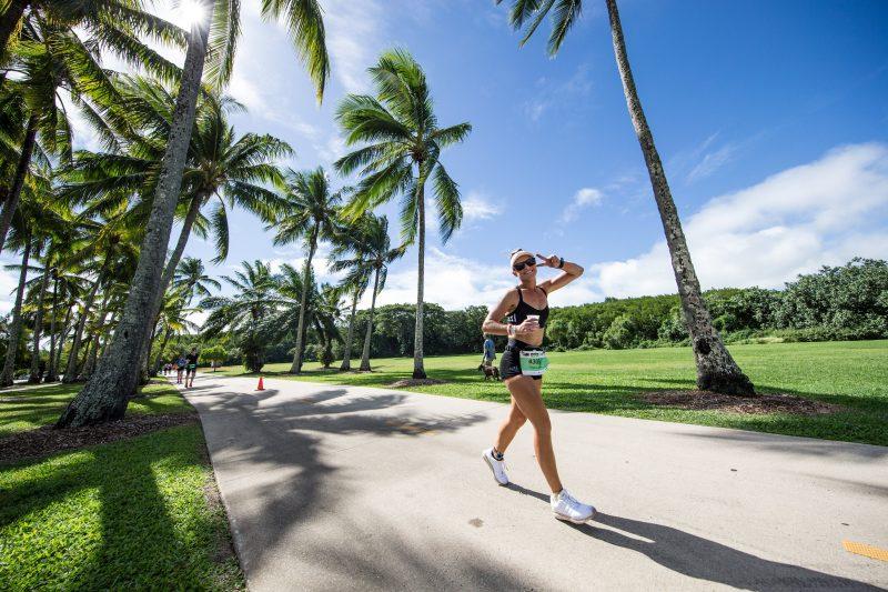 Run course of IRONMAN Cairns