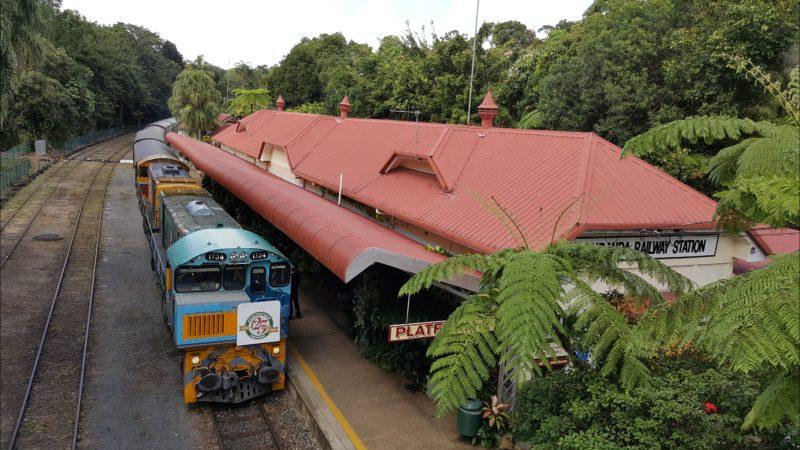 Kuranda Scenic Railway, part of the Skyrail and Train Tour
