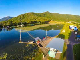 Cairns Wake Park in Tropical North Queensland
