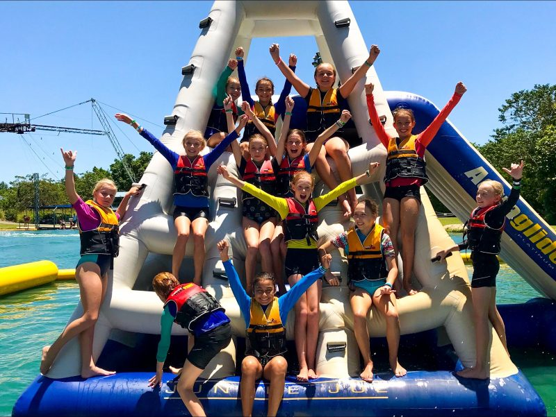 Group Bookings and Birthday Party Fun on the Aqua Park