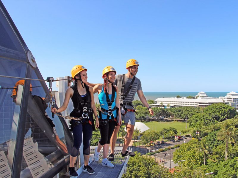 dome climb on top of reef hotel casino cairns zoom and wildlife dome