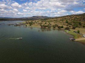 Callide Dam Boat Ramp