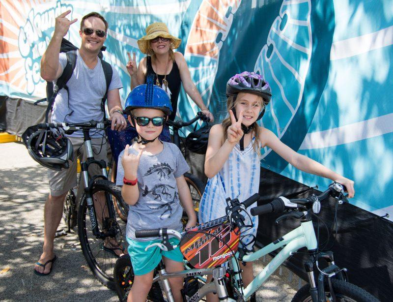 Sustainable festival transport