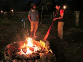 Didgeridoo Camp fire Jam Brisbane