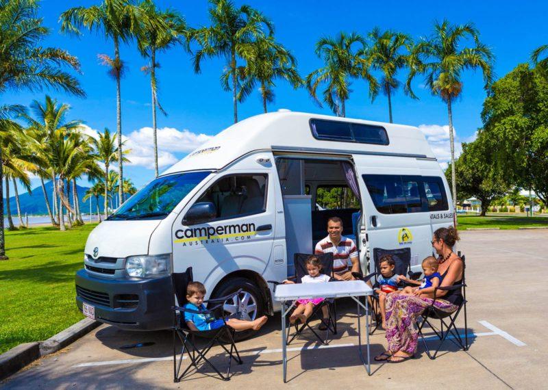 Family friendly campervans