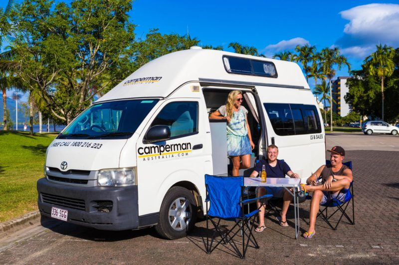 Campervan for perfect for small families and friends.