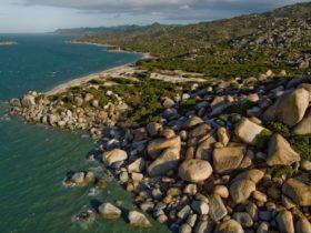 Boulders on coastline fo Cape Melville