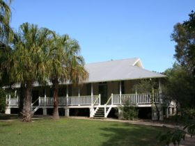 Historic Queenslander building at Pallarenda