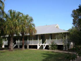 Historic Queenslander building at Pallarenda