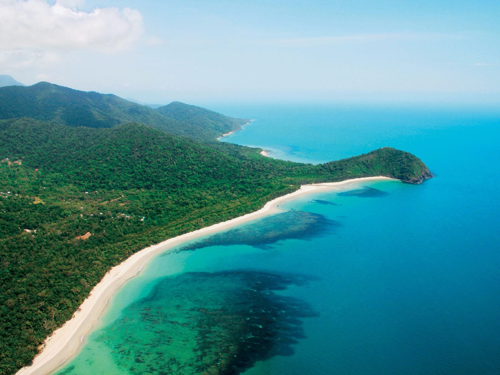 Cape Tribulation rainforest meets the reef