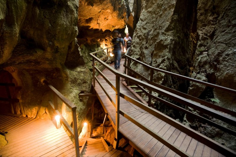Capricorn Caves Wheelchair ramp