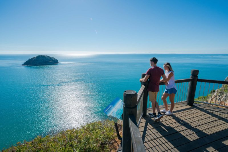 Enjoy stunning views from Bluff Point Circuit Lookout