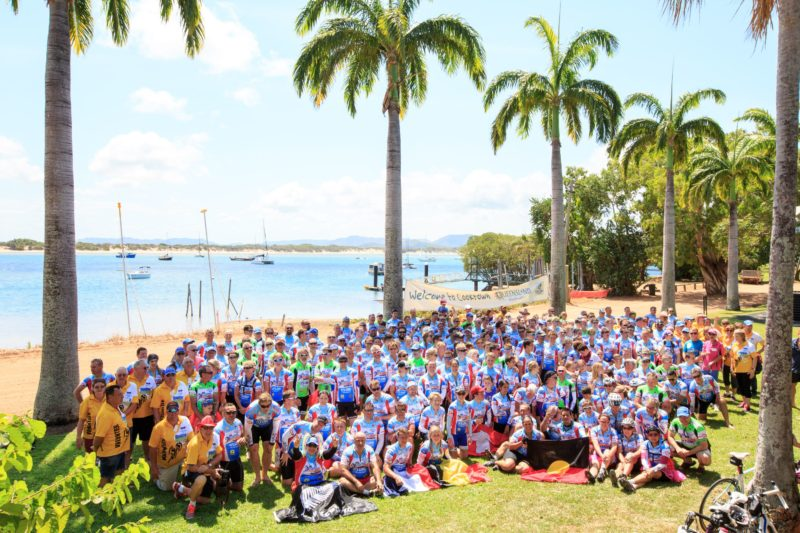 270 riders arrived safely in Cooktown