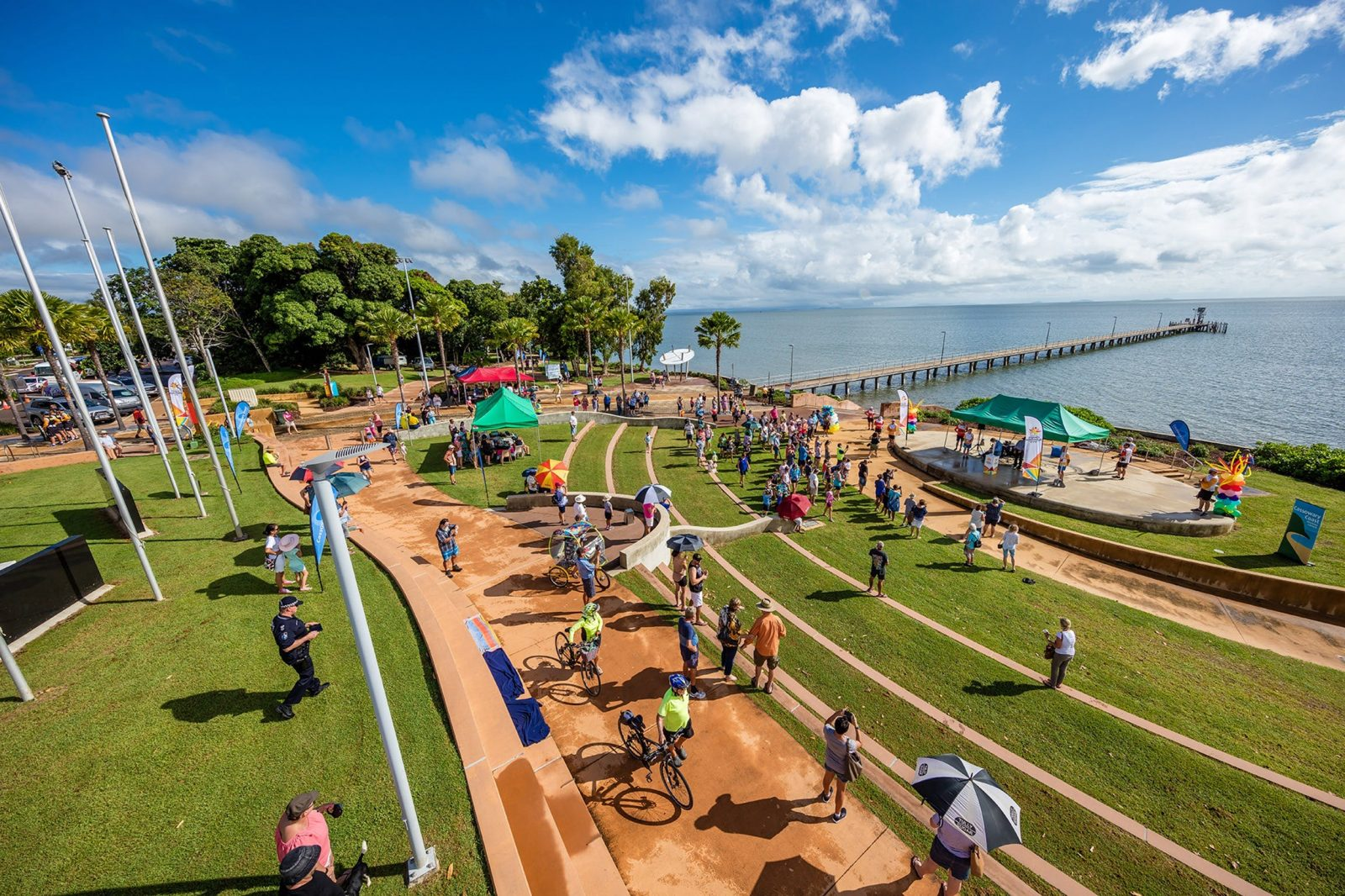 A festival celebrating Cardwell on the foreshore