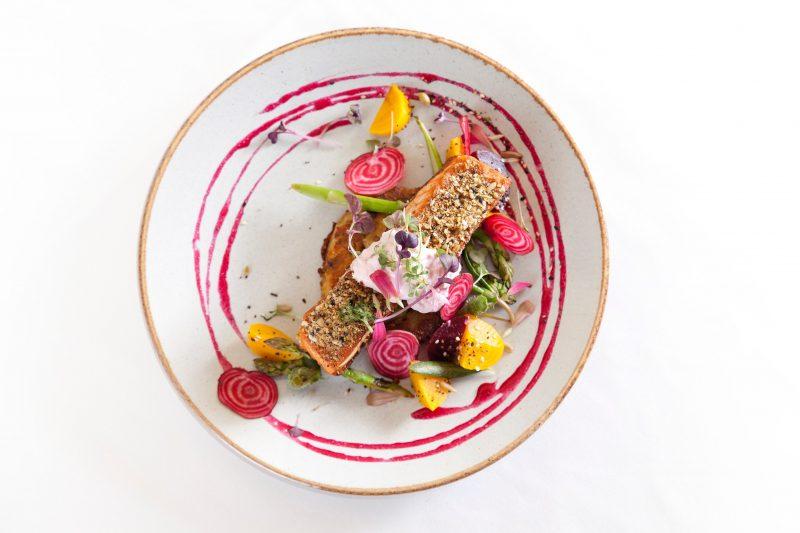 Carmody's salmon dish
