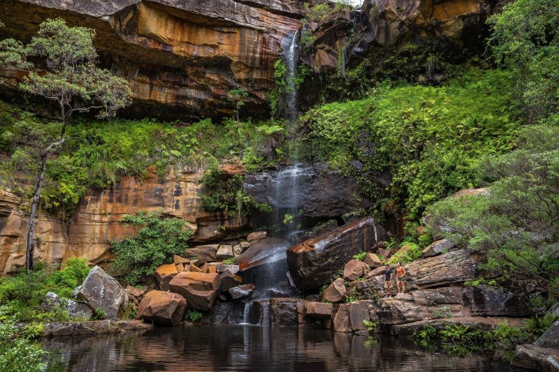 Blackdown Tableland National Park - Rainbow Waters Waterfall