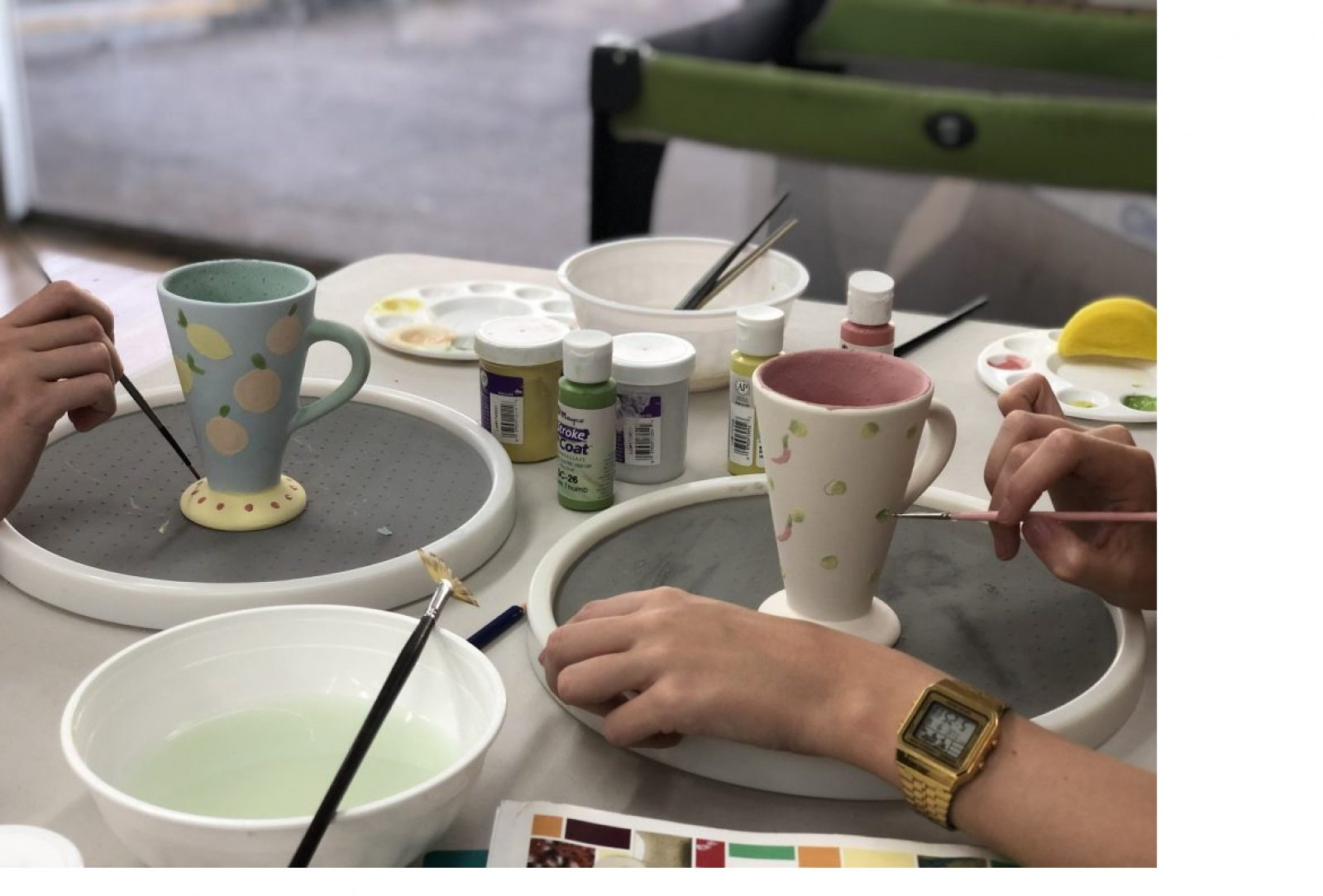 Ceramic Painting Class