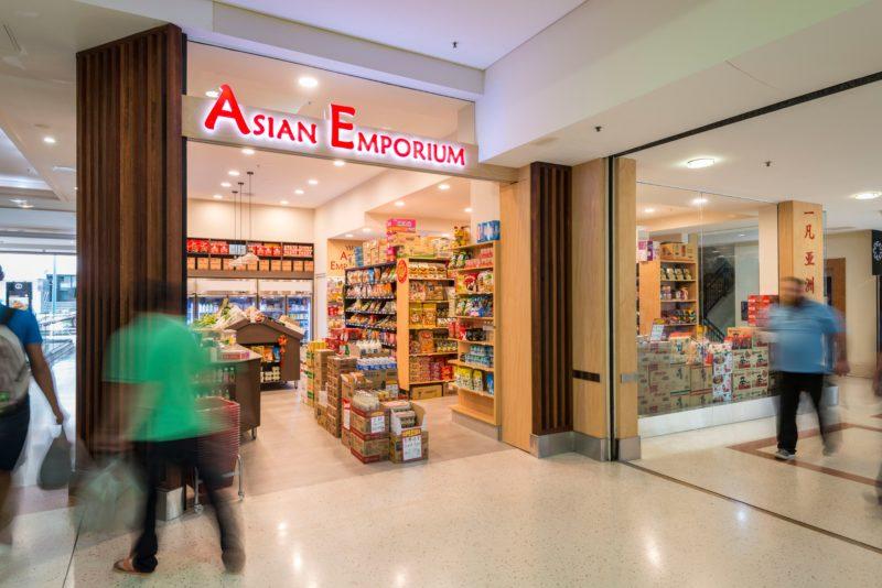 Chinese asian supermarket
