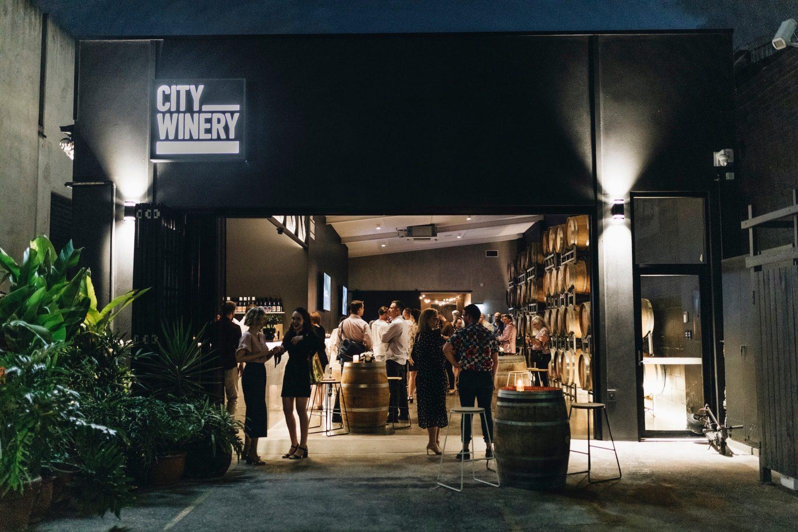 City Winery at Night