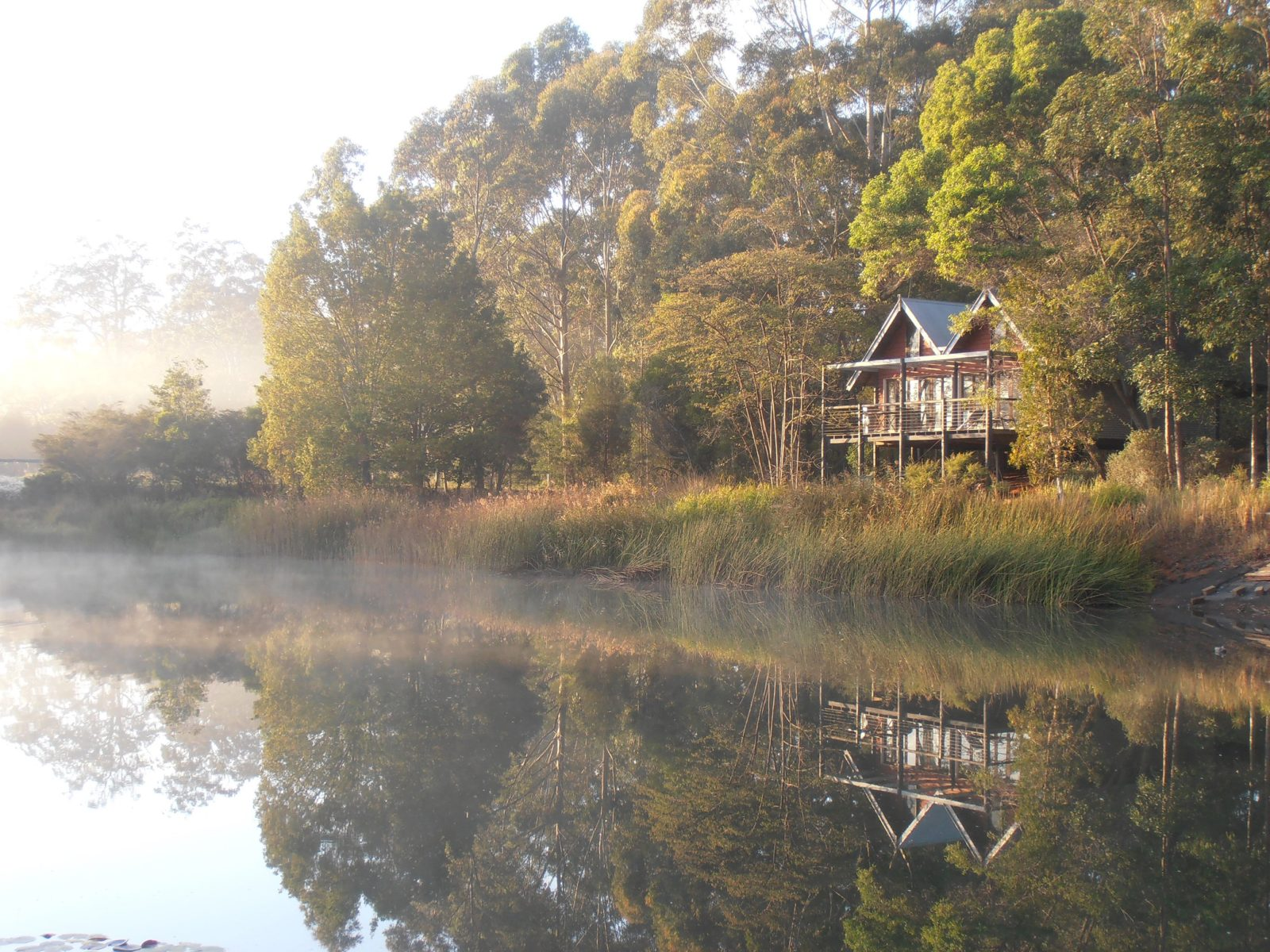 Early morning at The Boathouse