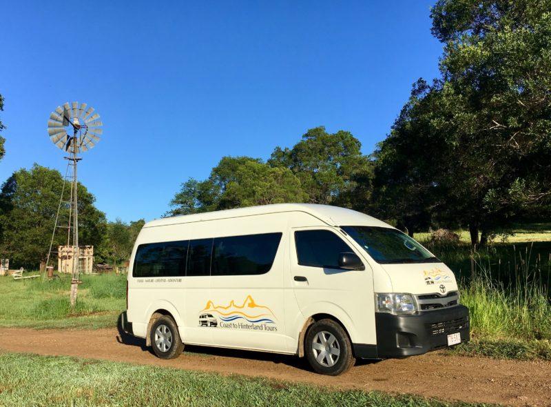 Coast to Hinterlad Tours Minibus