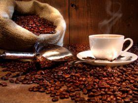 Coffee freshly roasted on the premises