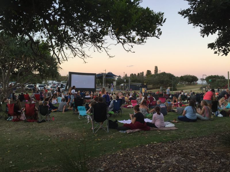Coolum Beach Movies in the Park