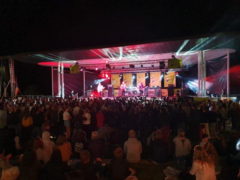 The seminal Australian band the Hoodoo Gurus were the headline act on the 2019 Festival's main night