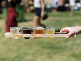Sampling some of the 150+ brews showcased at Crafted Festival