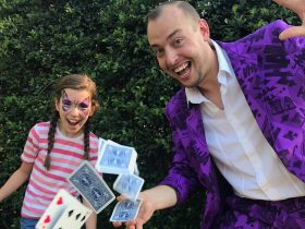 Face Painting and Magicians - fun for everyone!