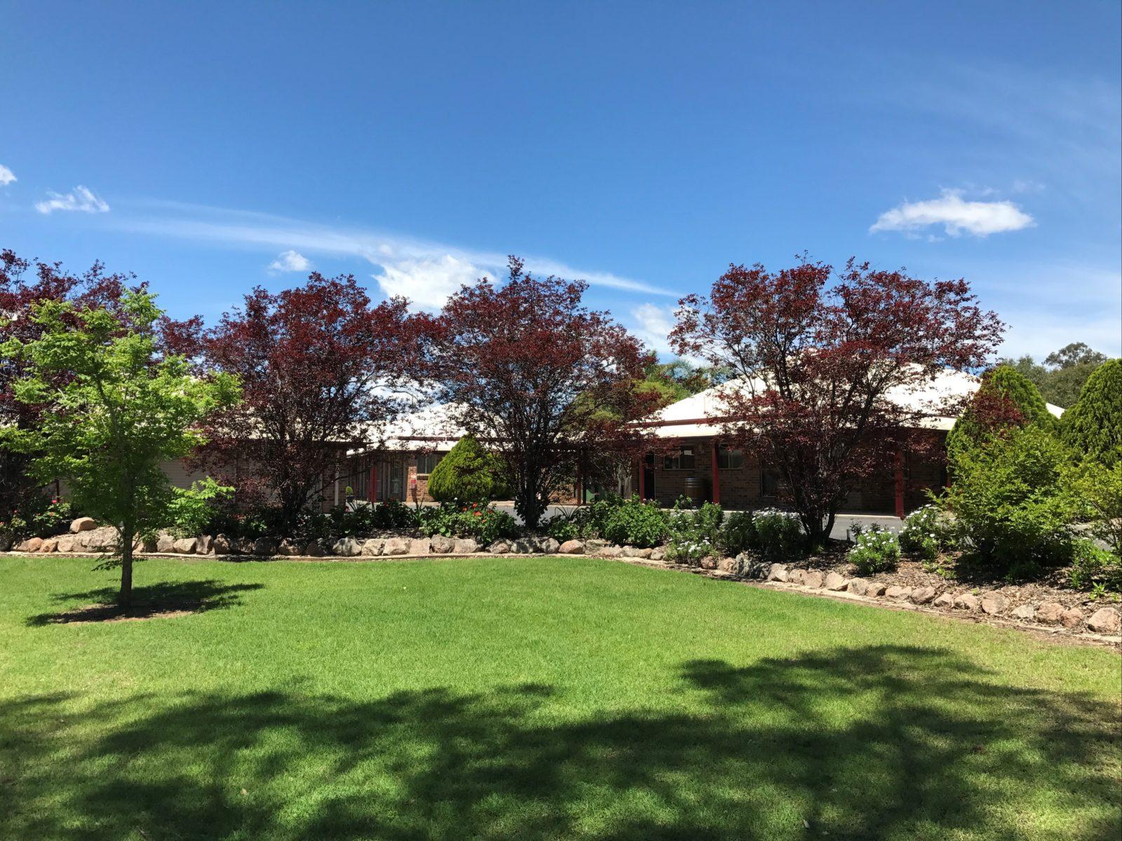 Motel Exterior - Gardens