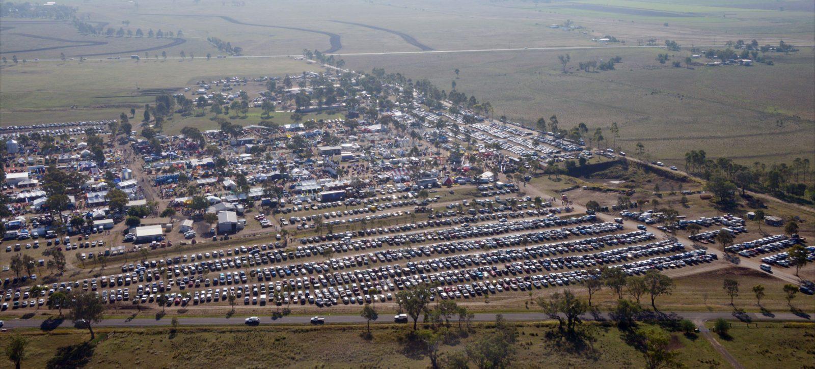 FarmFest Aerial | 2014