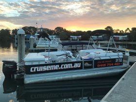 CruiseMe Boat on South Stradbroke Island Gold Coast