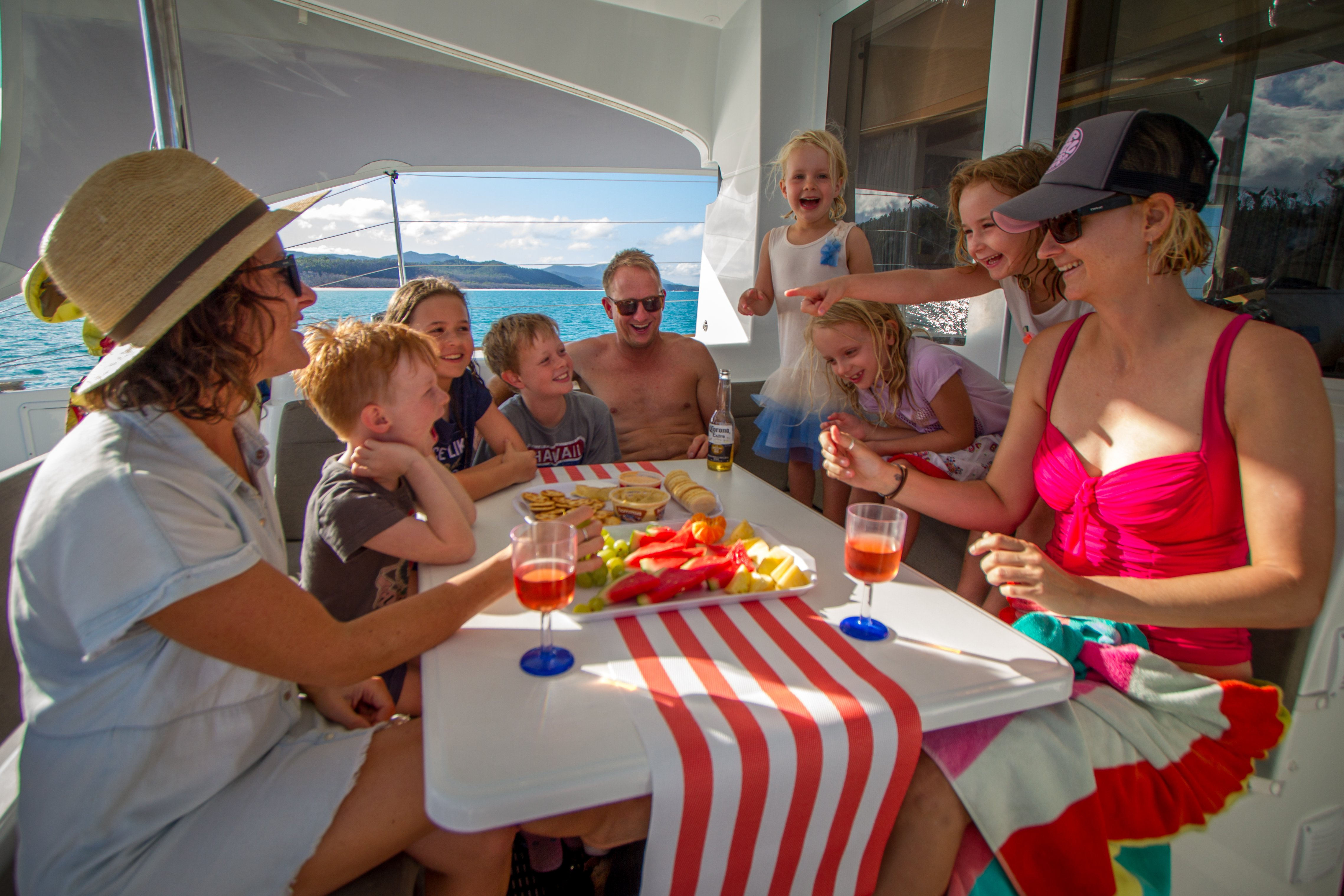 Cumberland Charter Yachts | Transport Hire | Airlie Beach