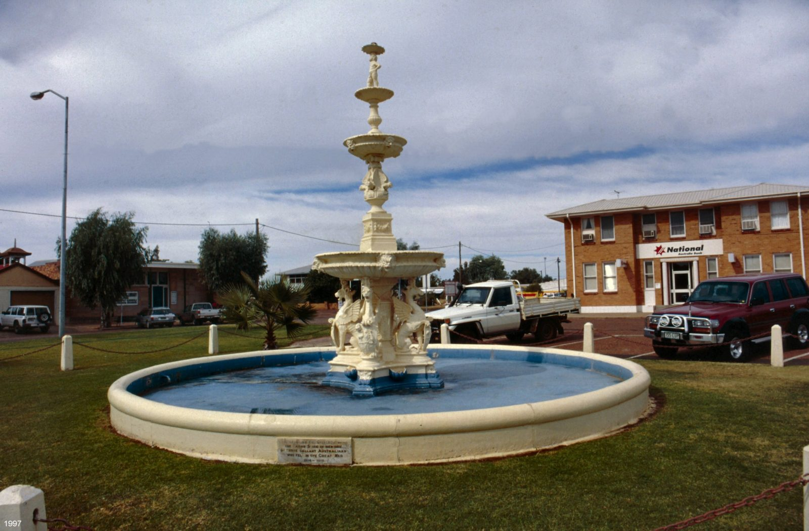 Cunnamulla War Memorial Fountain