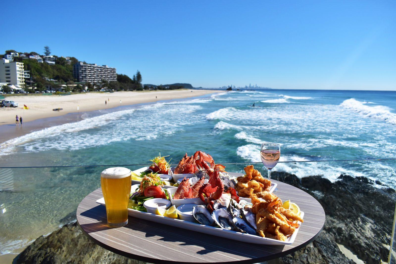 Seafood Platter Currumbin Surf CLub