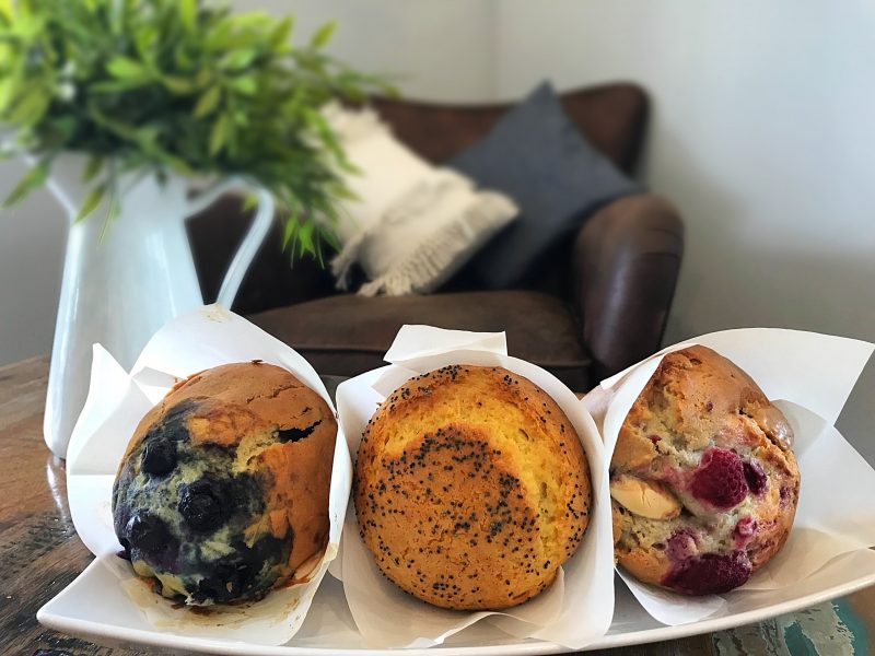 house made muffins