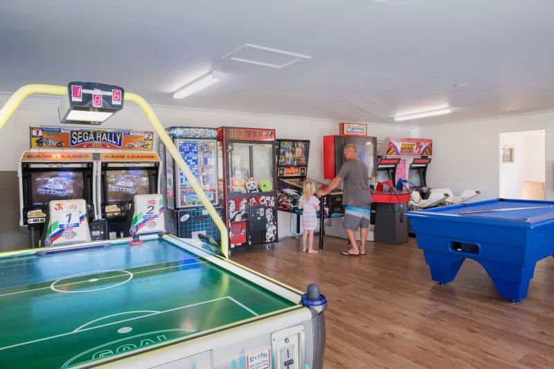 Dicky Beach Holiday Park - Games Room