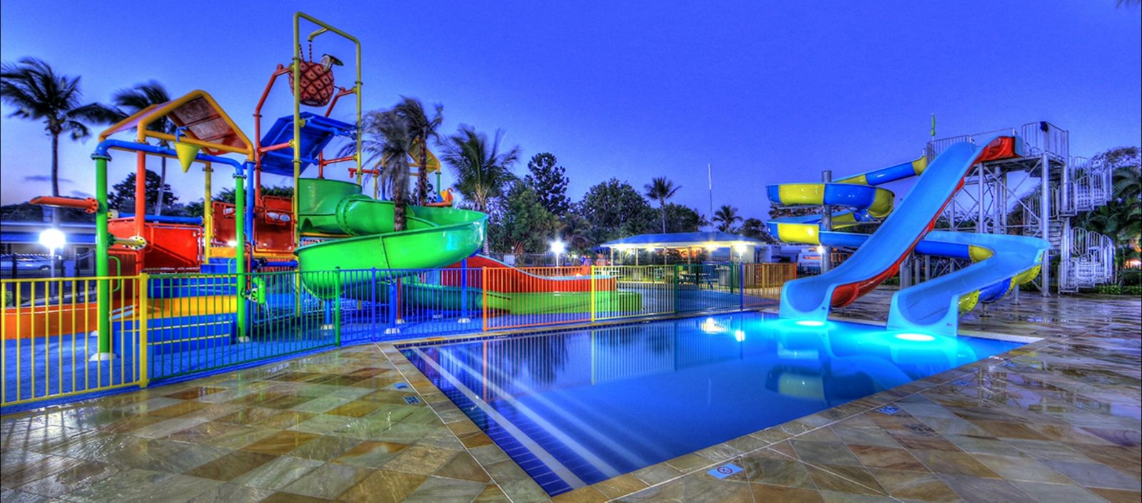 Water Park by Night