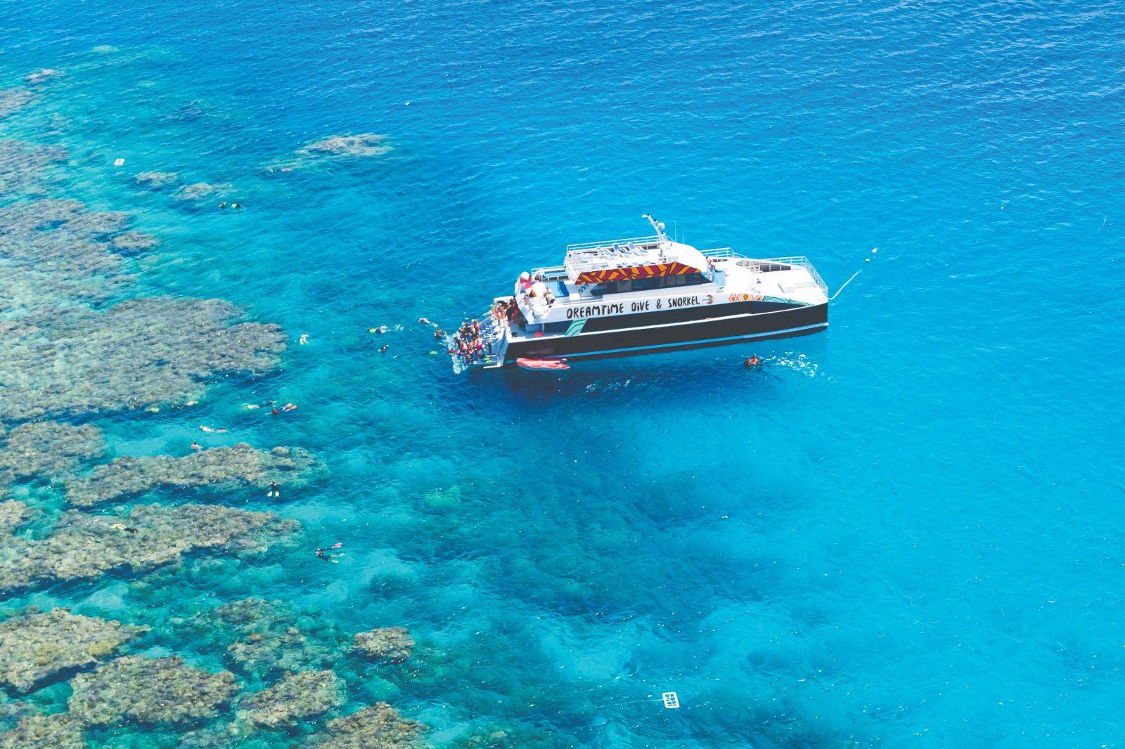 Vessel at Reef