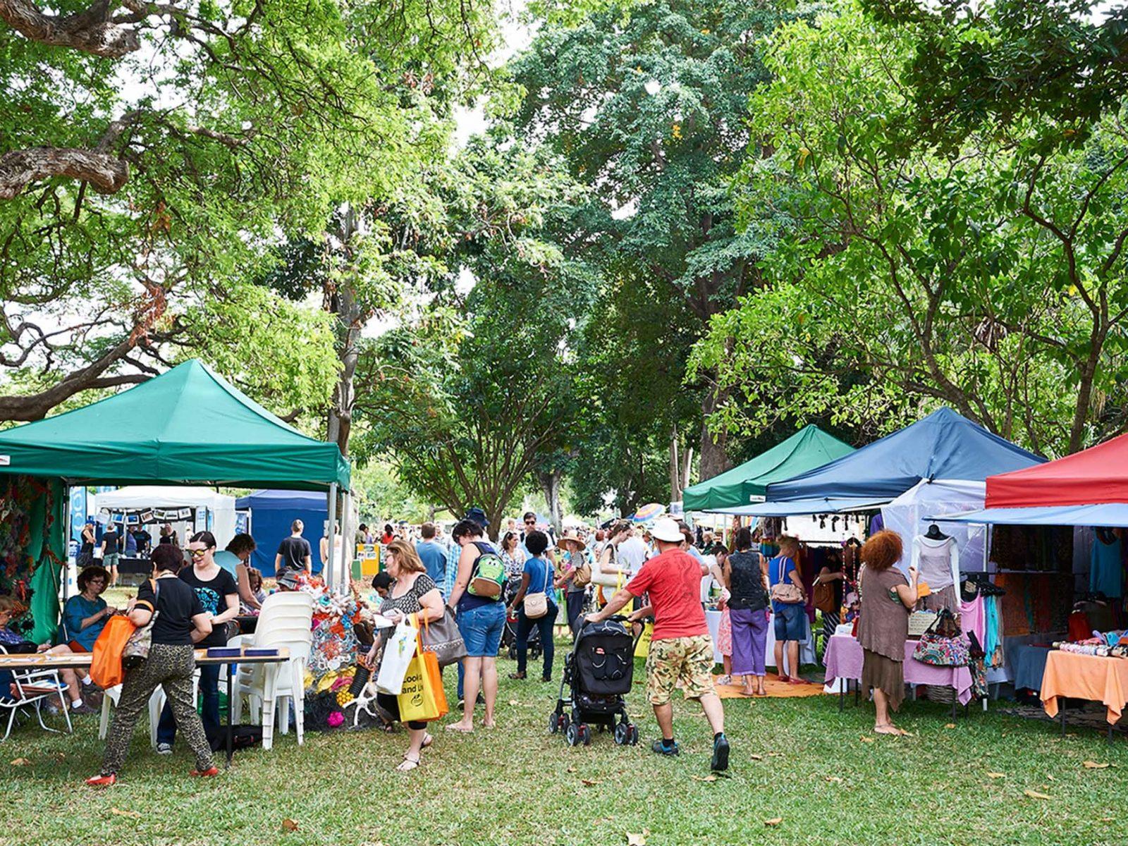 Eco Fiesta stalls