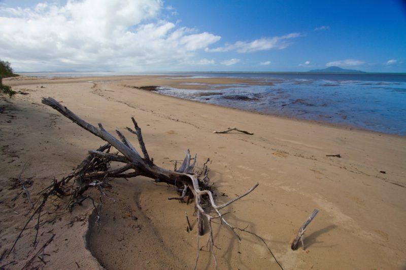 Scenic beach at Edmund Kennedy